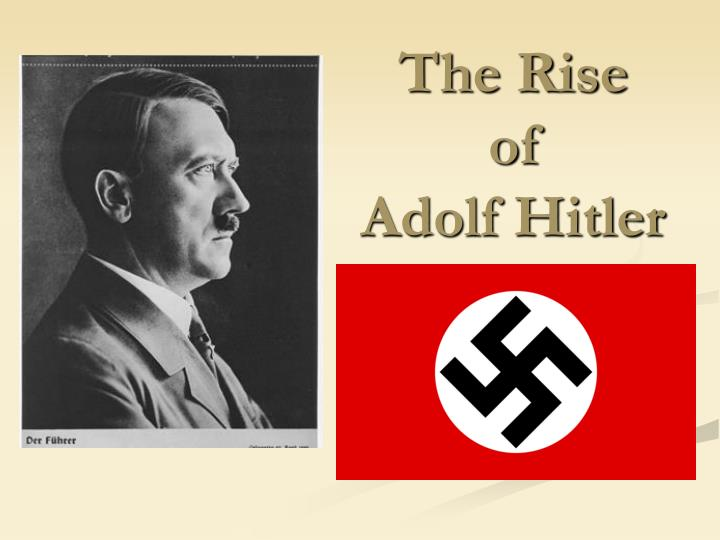 early 1920s and hitlers rise to