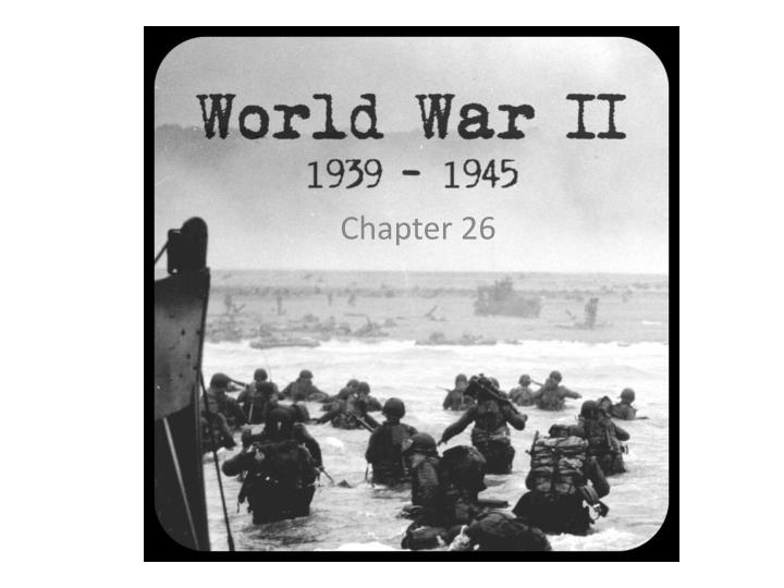 the results of world war ii The most transformative conflict in history, world war ii impacted the entire globe and set the stage for the cold war as the war raged, the leaders of the allies met several times to direct the course of the fighting and to begin planning for the postwar world.