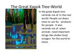 the great kapok tree world
