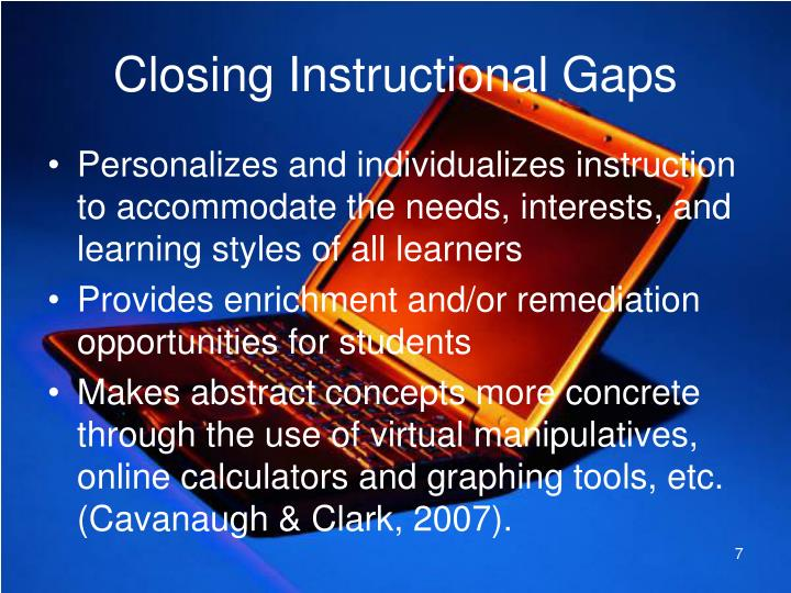 Closing Instructional Gaps