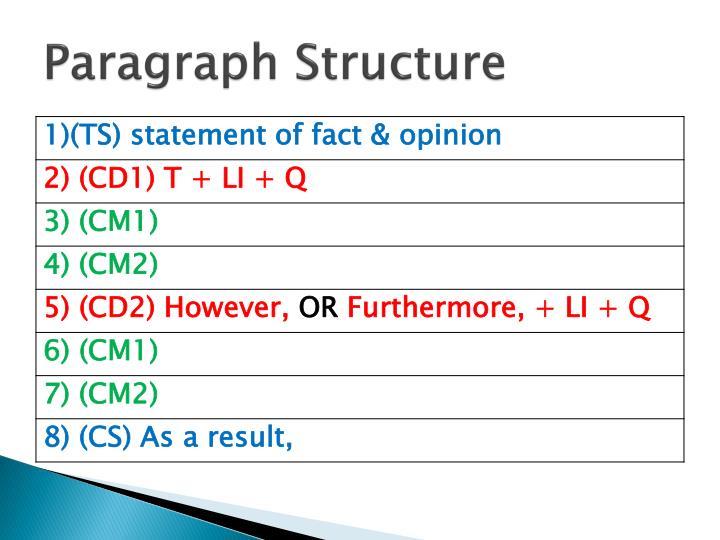 ppt comparison contrast essay powerpoint presentation id  paragraph structure