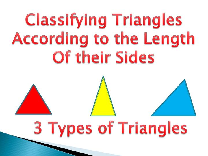Ppt Triangle Notes Classifying Triangle Worksheet Additional