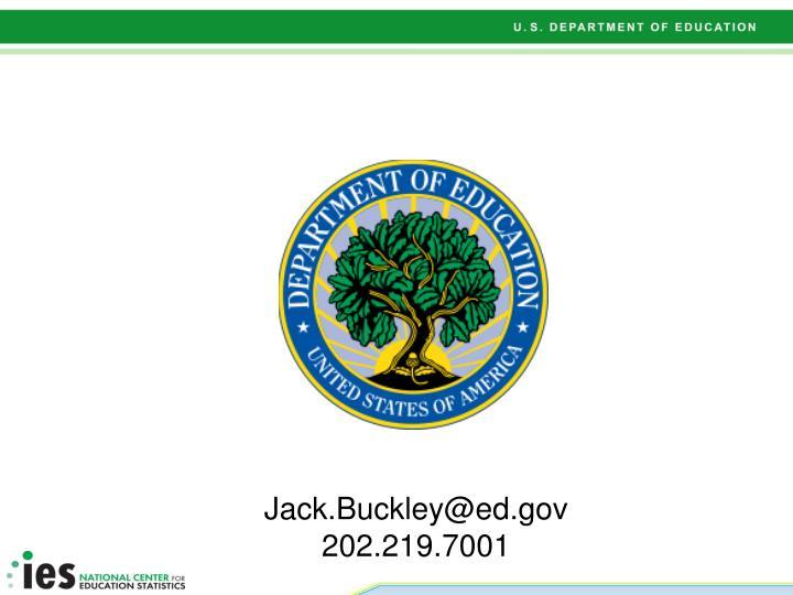 Jack.Buckley@ed.gov