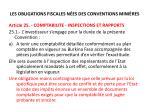 les obligations fiscales n es des conventions mini res3