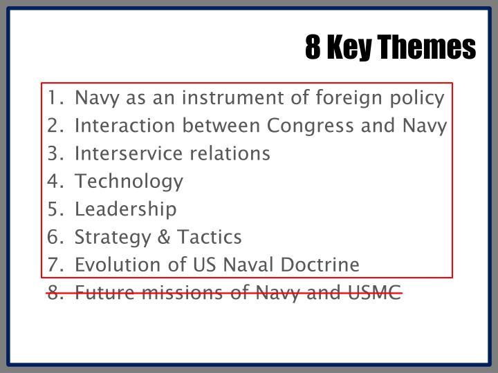 8 Key Themes