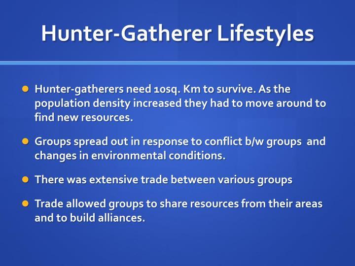 Hunter-Gatherer Lifestyles