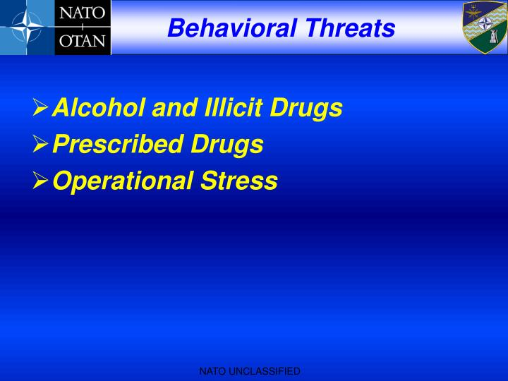 Alcohol and Illicit Drugs