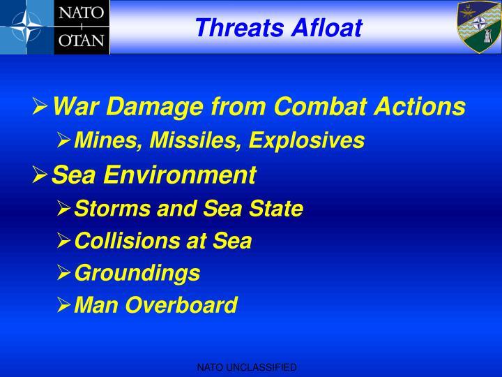Threats Afloat