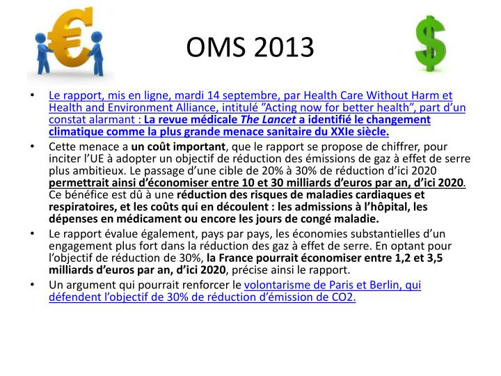 OMS 2013