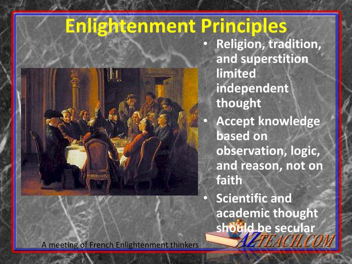 Enlightenment Principles