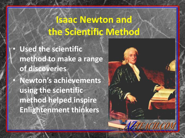 Isaac Newton and