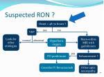 suspected ron