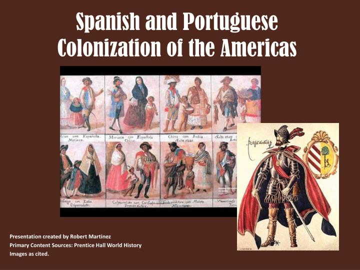 spanish and portuguese colonization of the americas n.