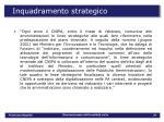 inquadramento strategico