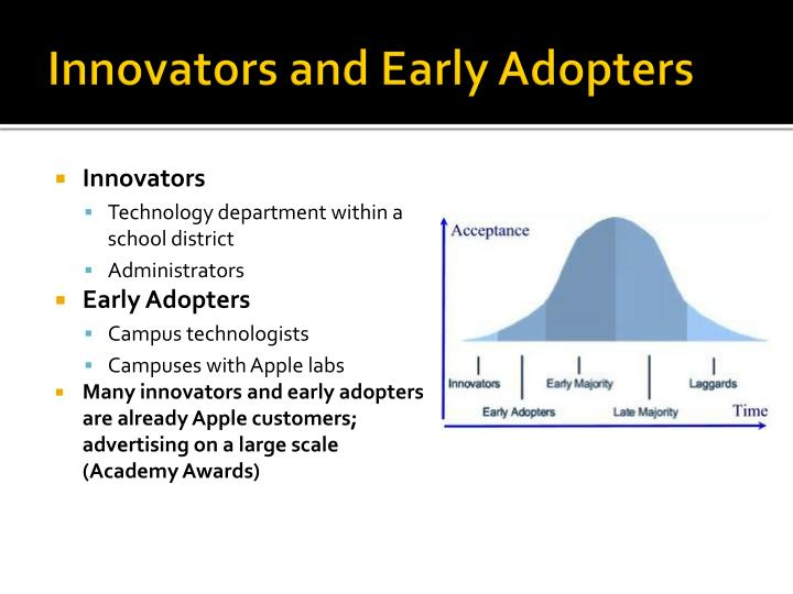 Innovators and Early Adopters