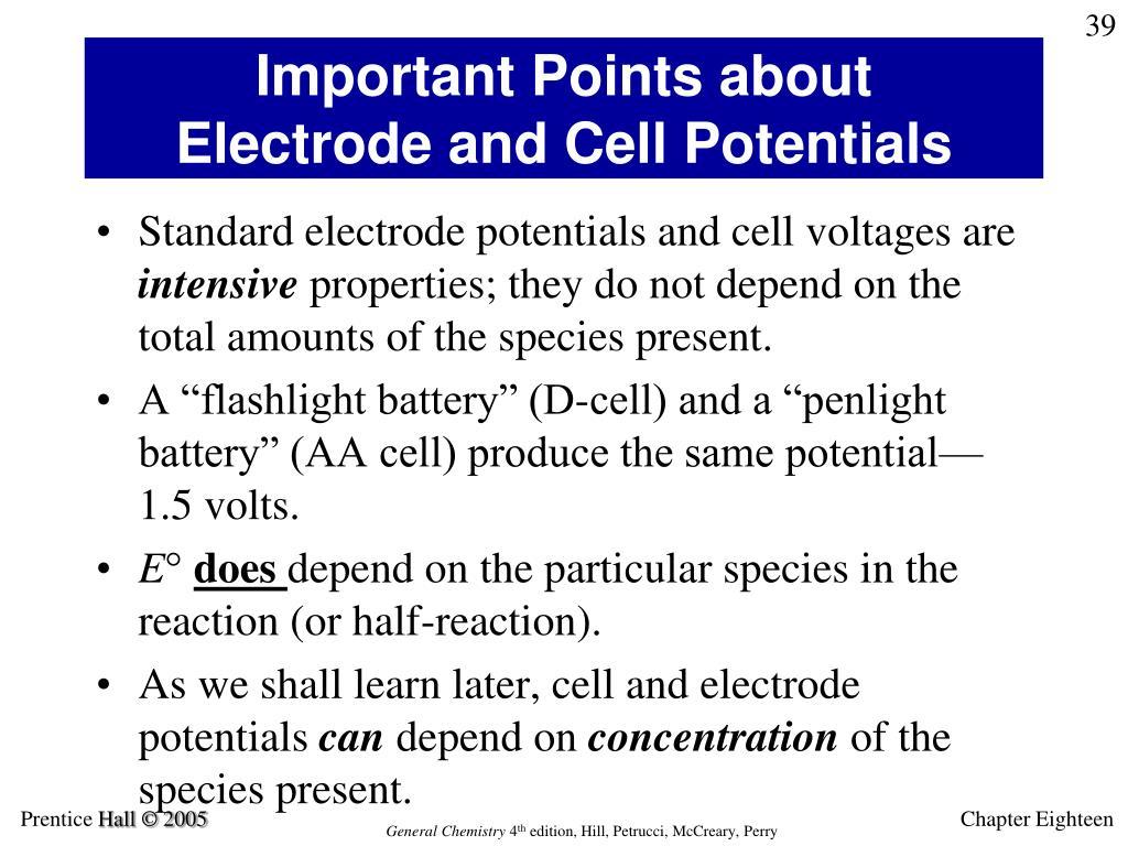 PPT - Electrochemistry PowerPoint Presentation, free ...