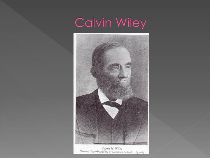 Calvin Wiley