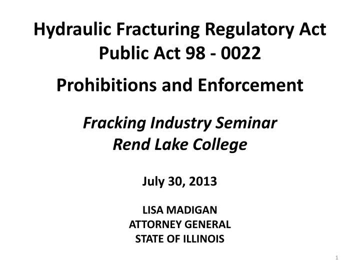 legal issues with hydraulic fracturing