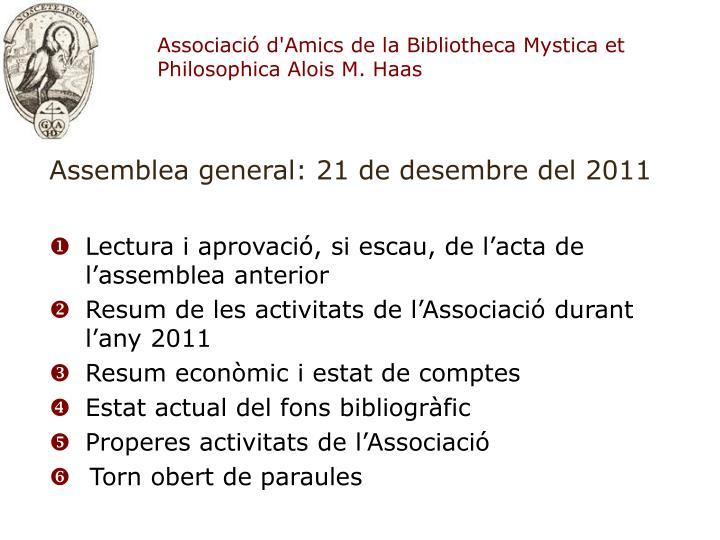 Associaci d amics de la bibliotheca mystica et philosophica alois m haas1
