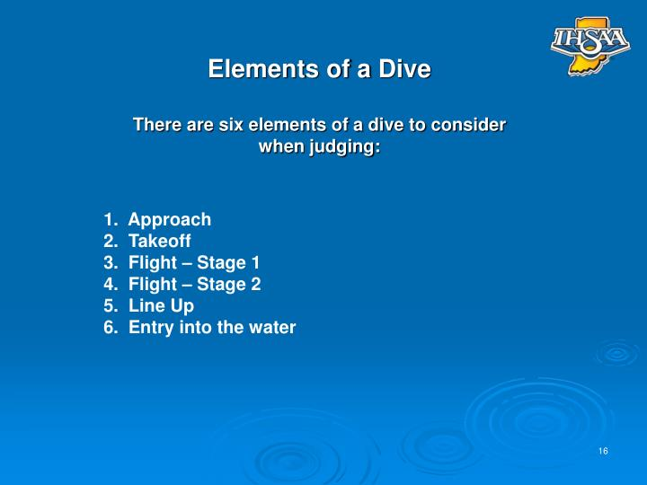 Elements of a