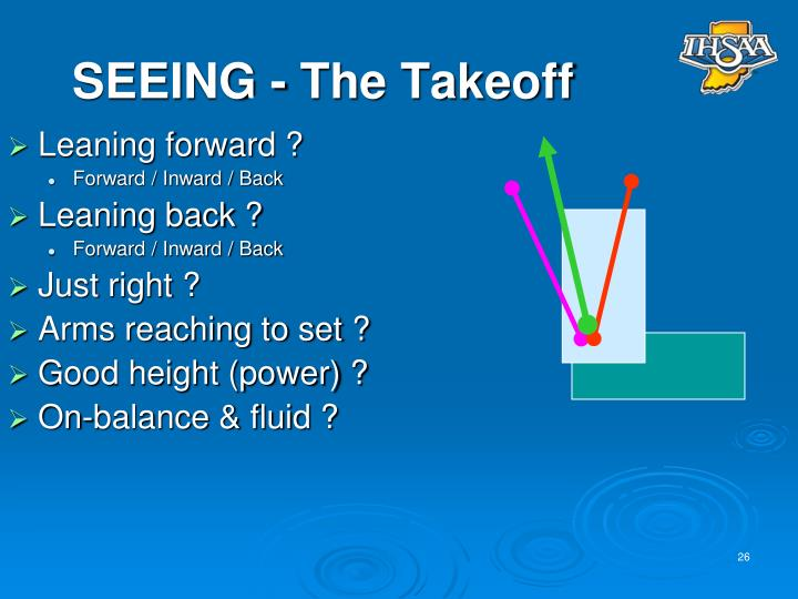 SEEING - The Takeoff