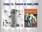 golgo 13 tatsumi et saito 1960