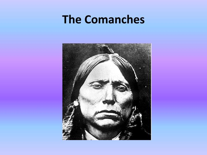 the comanches n.