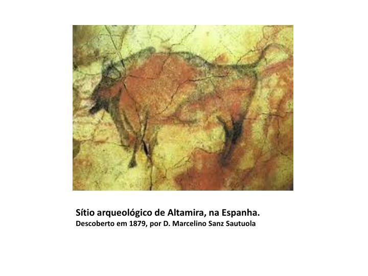 Sítio arqueológico de Altamira, na Espanha.