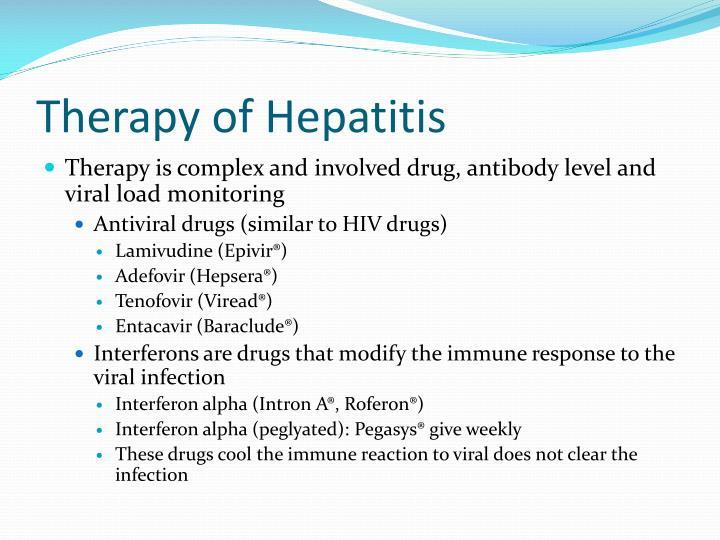 Therapy of Hepatitis