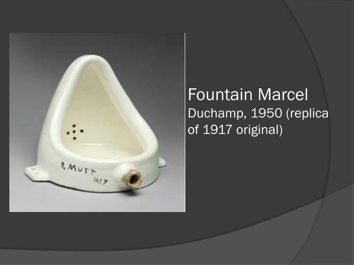 Fountain Marcel