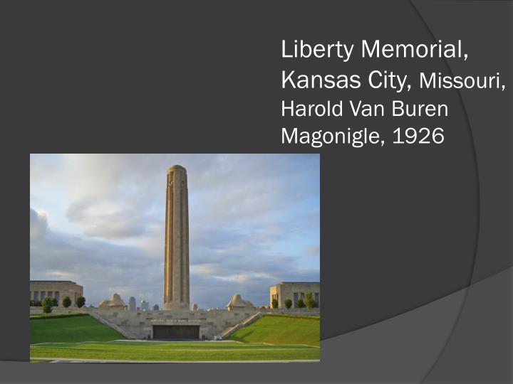 Liberty Memorial, Kansas City,
