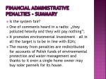 financial administrative penalties summary1