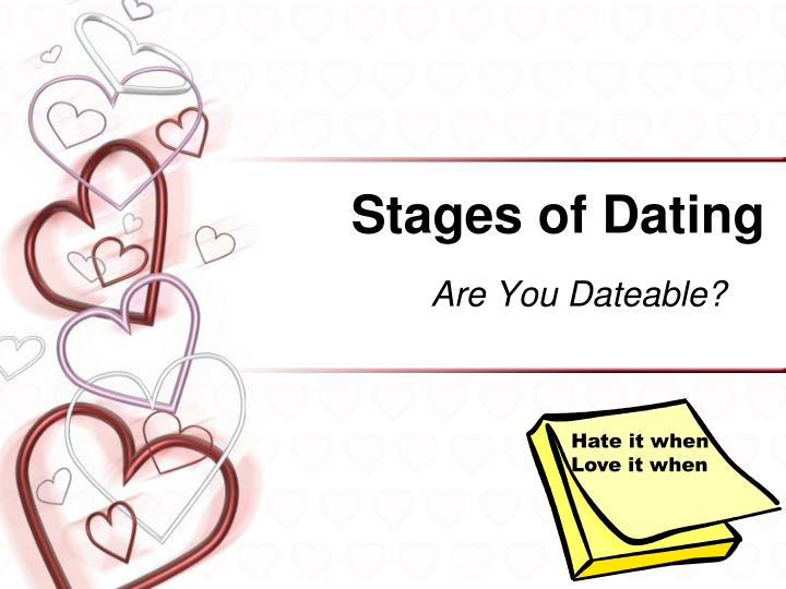stages of dating n.
