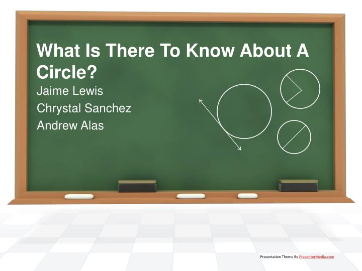 what is there to know about a circle