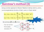 bairstow s method 3