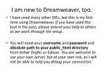 i am new to dreamweaver too