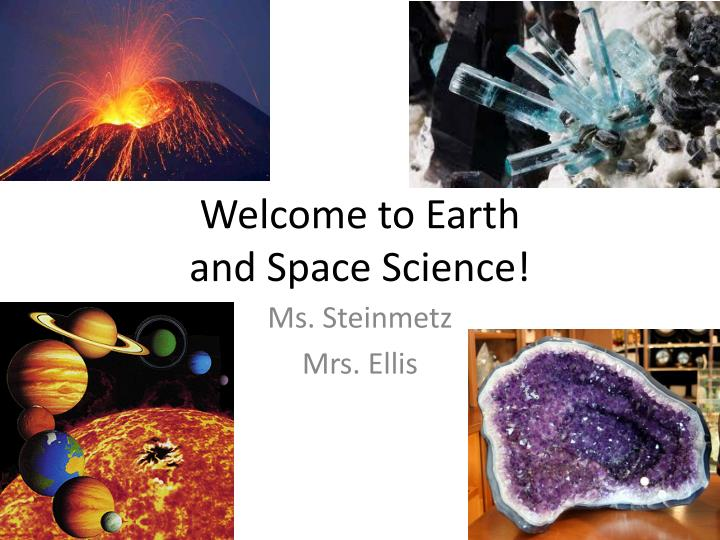 welcome to earth and space science n.