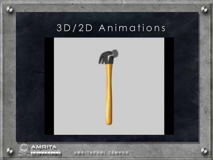 3D/2D Animations