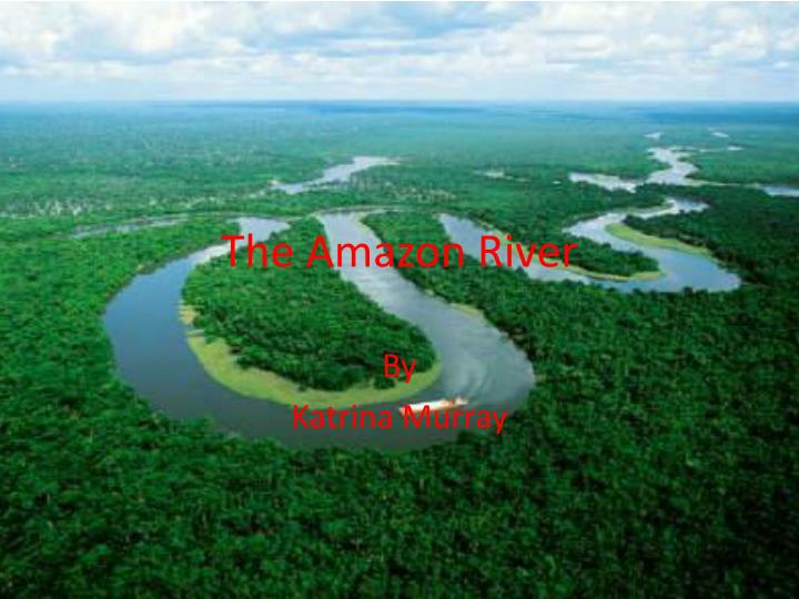 the amazon river n.