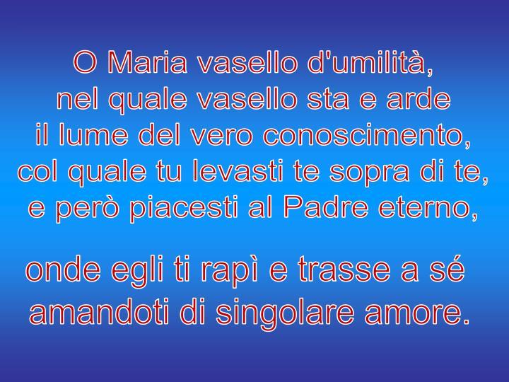 O Maria