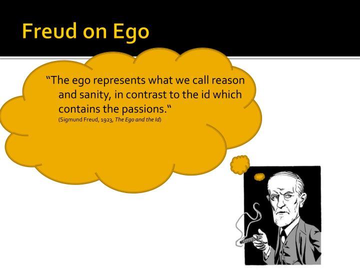 Freud on Ego