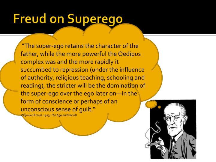 Freud on Superego