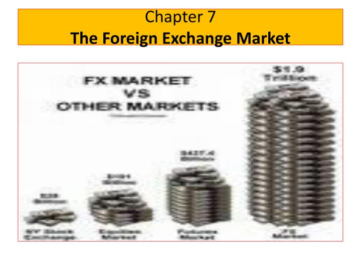 chapter 7 the foreign exchange market n.
