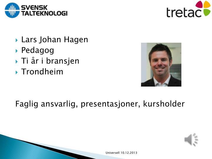 Lars Johan Hagen