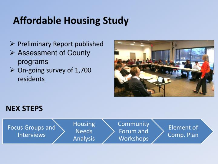 Affordable Housing Study