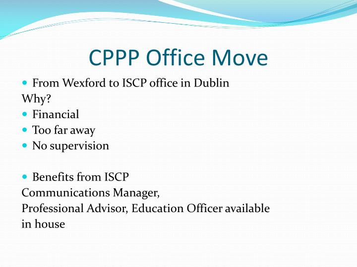CPPP Office Move