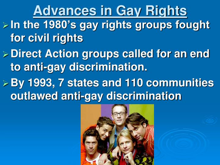 Advances in Gay Rights