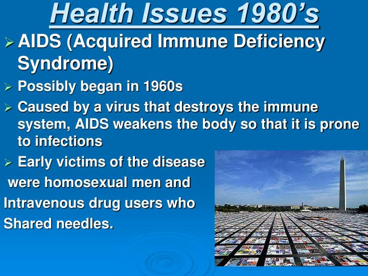 Health Issues 1980's