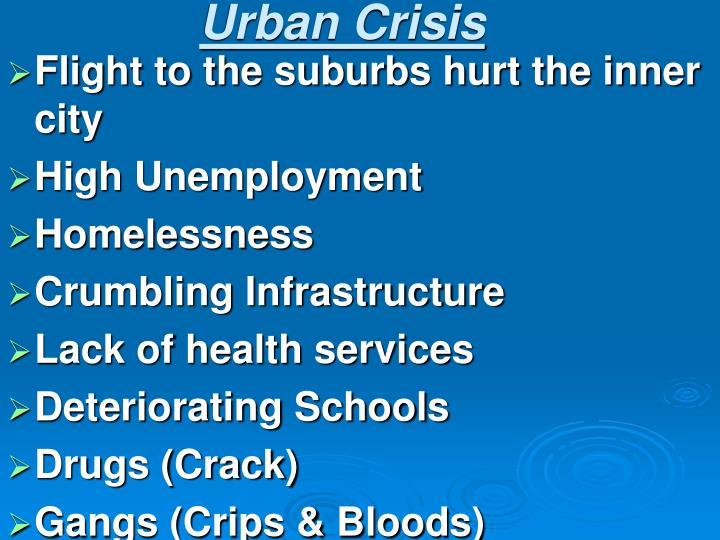 Urban Crisis