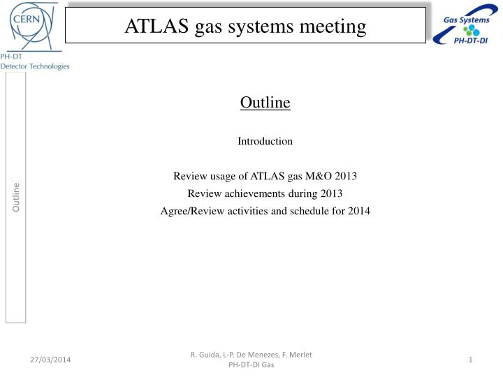 Atlas gas systems meeting